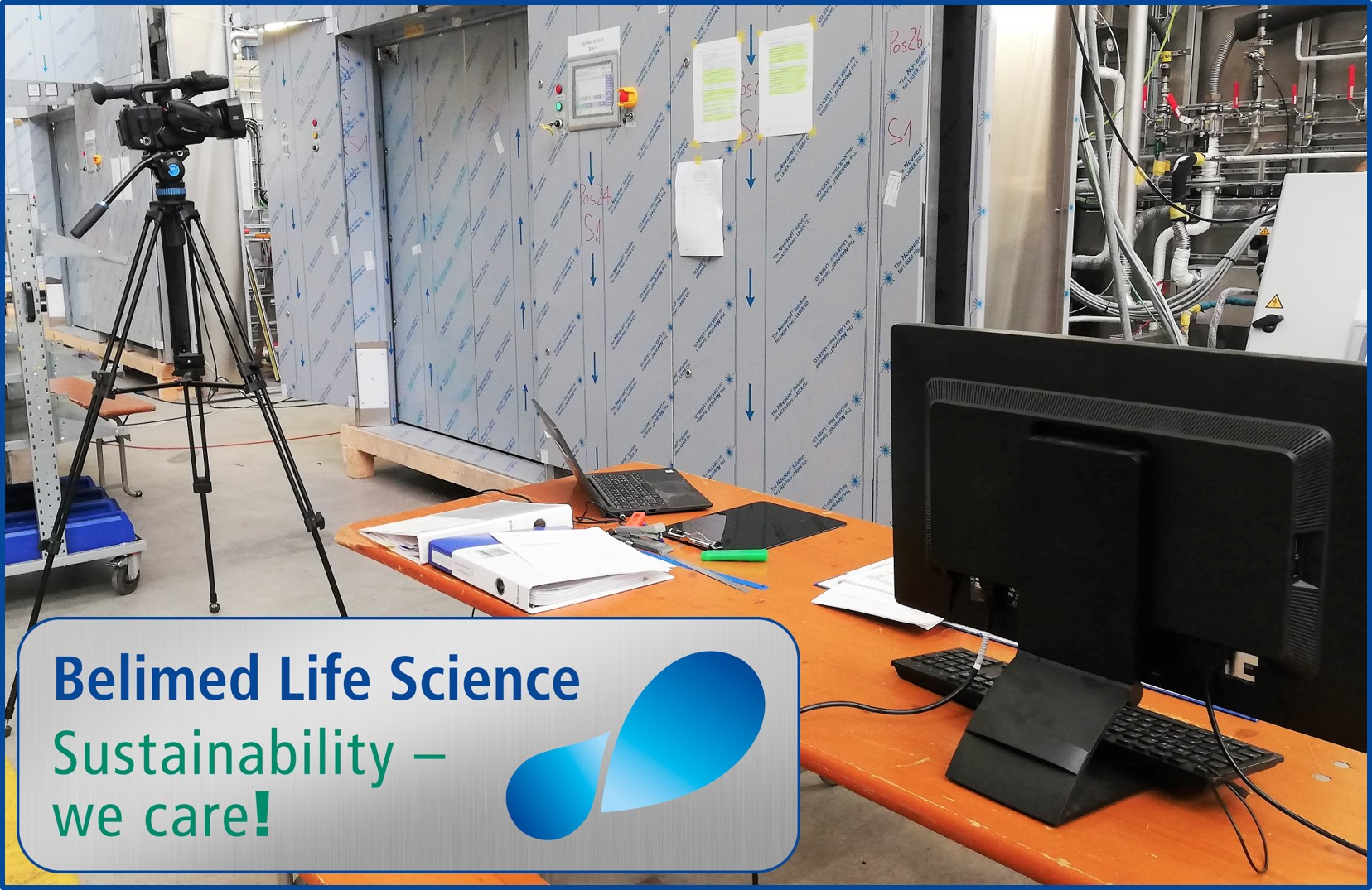 Belimed Life Science - Virtual FAT CO2 reduction