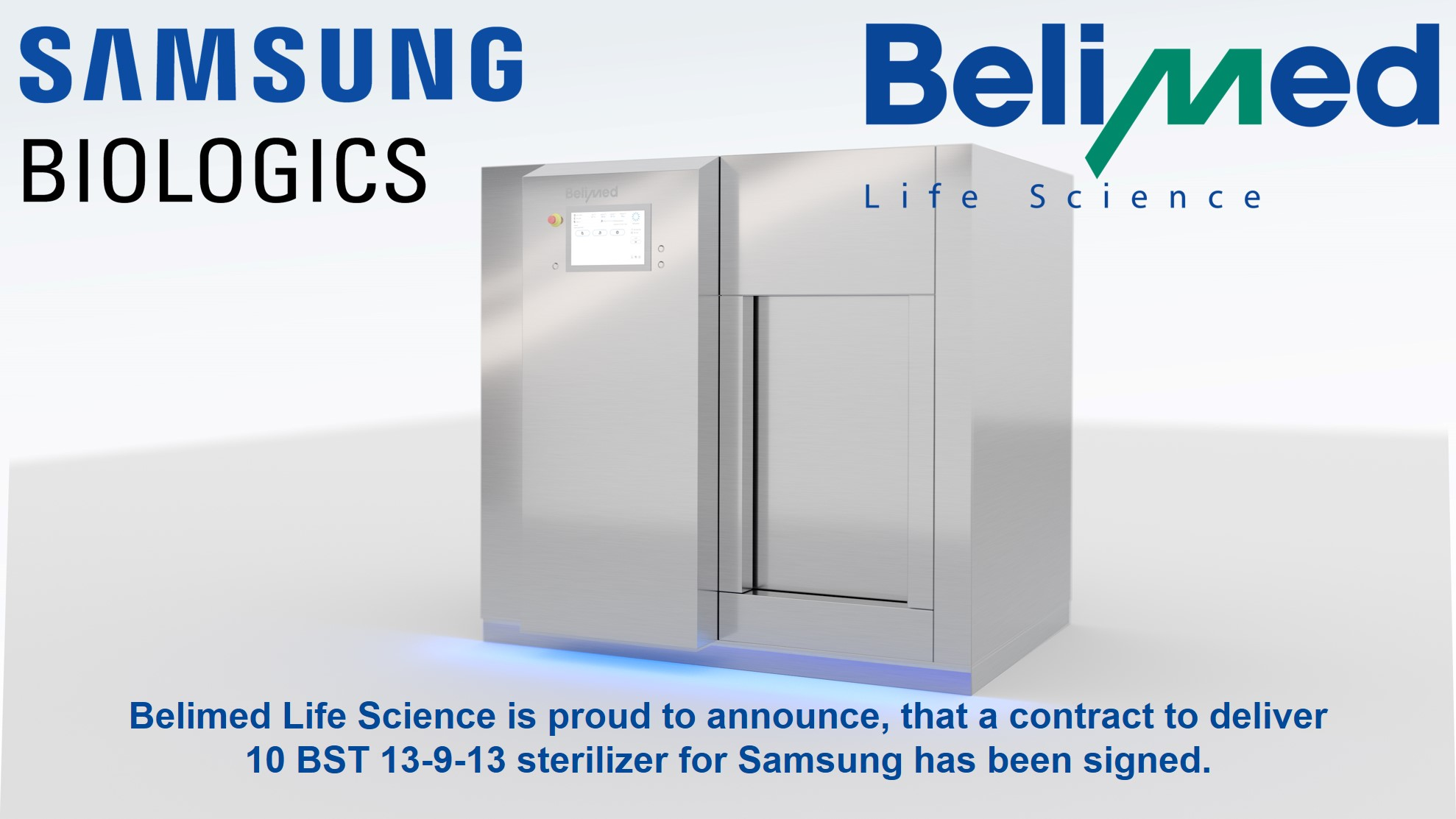 Belimed Life Science - Samsung won contract